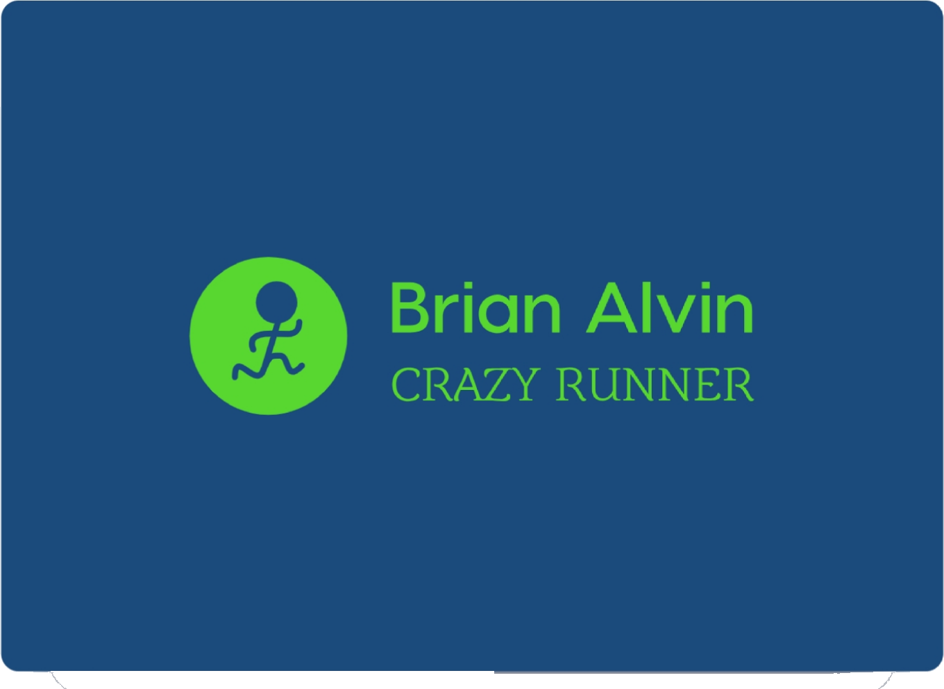 BRIAN ALVIN RUNNING TRAINING